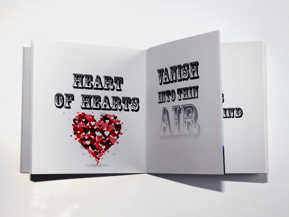 Shakespeare booklet – Heart of hearts vanish into thin air